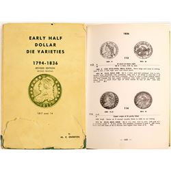 Early Half Dollar Die Variations 1794-1836 y Overton