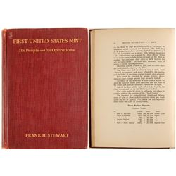 First United States Mint Hardcover by Stewart