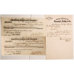 Donohoe, Kelly & Co. Exchanges & Letterhead