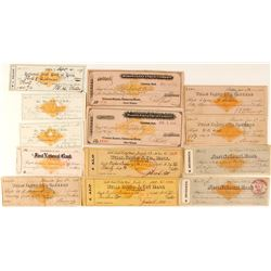 Western Checks with Imprinted RN's: Dakota, Utah, New Mexico