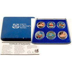 USCG Six-Coin Collectors Set
