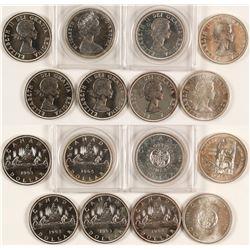 Canada Silver Dollars