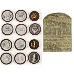 Egyptian Proof Set