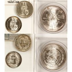 Silver of Switzerland and Mexico