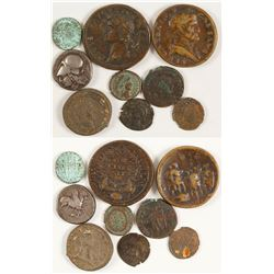 Ancient Roman and Fantasy Coins