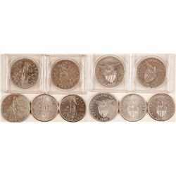 Silver One Peso Coins