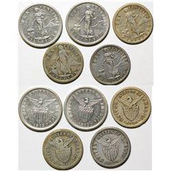 Ten Centavos Pieces