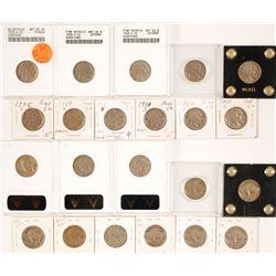 Buffalo Nickels from San Francisco