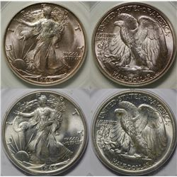 Walking Liberty Half Dollars