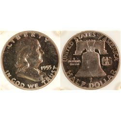 Proof Franklin Half Dollar