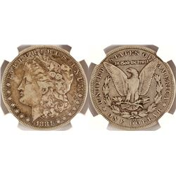 1881 CC Morgan Dollar VF20