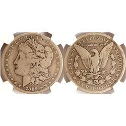 1889CC Morgan Dollar, G6