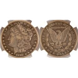 1890 CC VF 25 Morgan Dollar