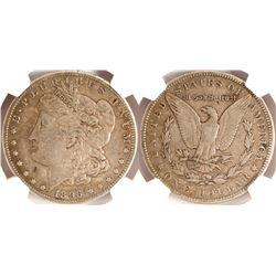 1896S Morgan Dollar, VF25