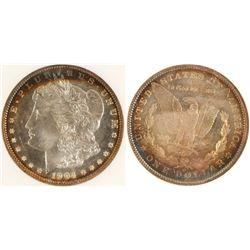 1904 O MS 64 DPL Morgan Dollar