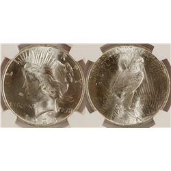 1923 Peace Dollar, MS 64