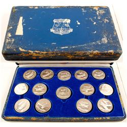 Confederate Air Force Silver 14-Coin Set
