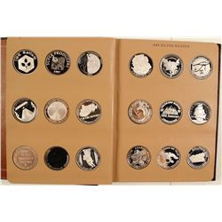 Book of 45 One-Troy-Ounce Fine Silver Rounds - Album 3