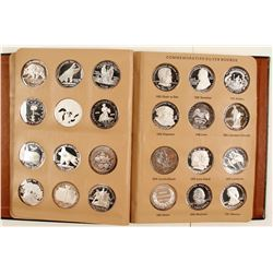 Book of 45 One-Troy-Ounce Fine Silver Rounds - Album 4
