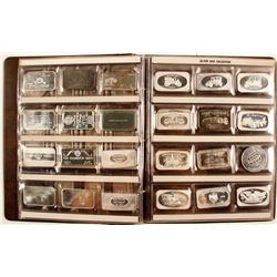 Book of 60 One-Troy-Ounce Fine Silver BARS and ROUNDS