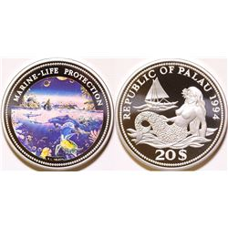 Marine Life Protection Silver Proof