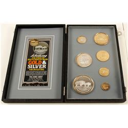 South Dakota Bison Bullion Sample Display