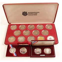 International Sports Coin Sets