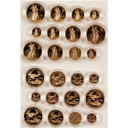 American Eagle Gold Bullion Proof Sets
