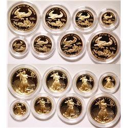 American Eagle Gold Proof Sets