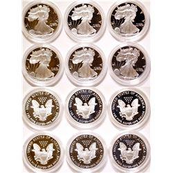 American Eagle Silver Bullion Proof Coins