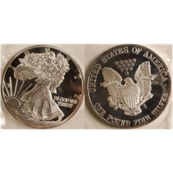 American Eagle Silver One Troy Pound Proof