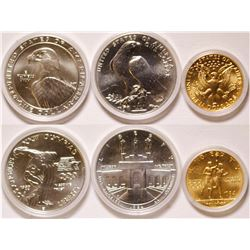 Silver and Gold Olympic  Set