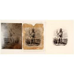 Native American Printers Plate