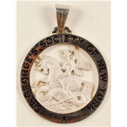 St. George's Society of New York Pendant