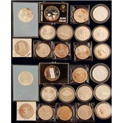 Silver Dollars and Silver Rounds