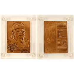 Bronze Plaquette of Jeremy Roenick