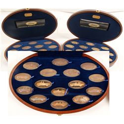 NWT Mint Proof Set of Ford Motor Company Centennial Medallion Collection, Set 2