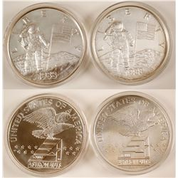 America in Space Silver Medals