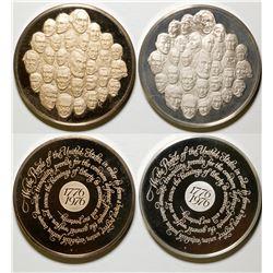 Franklin Mint Bicentennial Medal Set