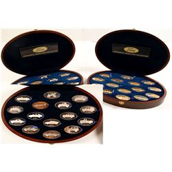 NWT Mint Proof Set of Ford Motor Company Centennial Medallion Collection, Set 1