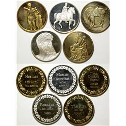 Sterling Art Medals