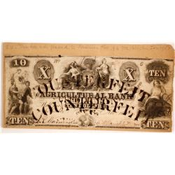 $10 Counterfeit Note, c.1850s