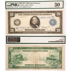 US $20, FR 1011a