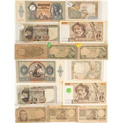 Paper Currency of Europe