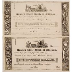 Illinois and Michigan Canal Company Scrip