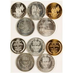 Silver Round Tokens (Mining) 3