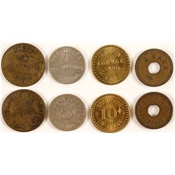 Three Western Tokens