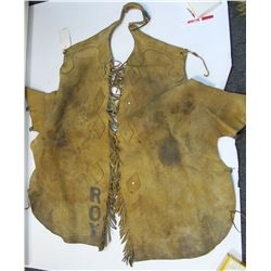 Bat Wing, Fringed Rodeo Chaps