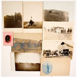 Cowboy Photographs & Real Photo Postcards