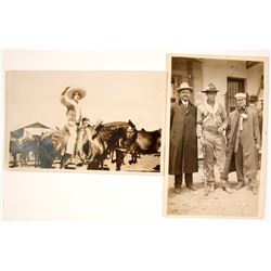 Pancho Villa Era Themed Real Photo Postcards